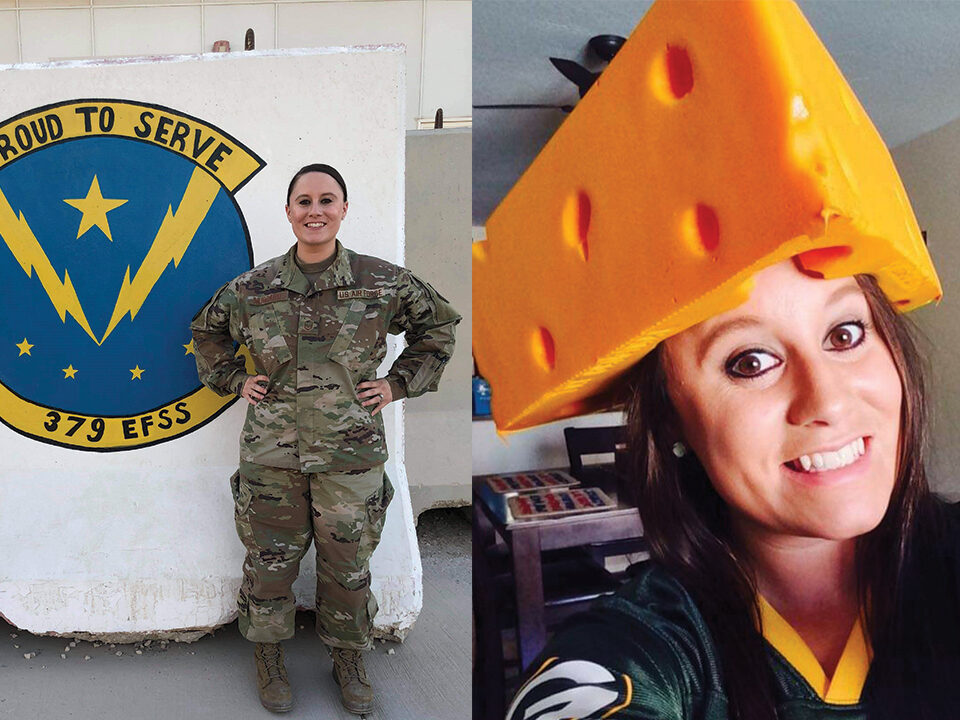 Air Force Master Sergeant Brianna Hubbard