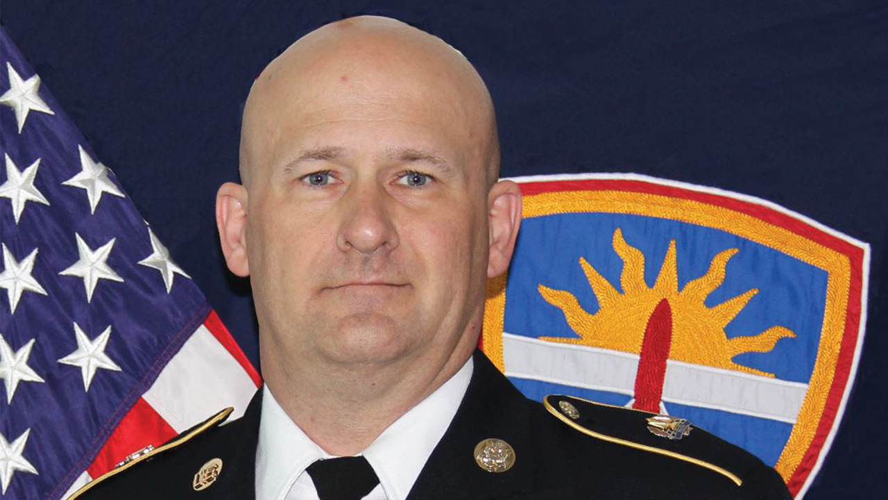 Army Command Sergeant Major Ronald Graves